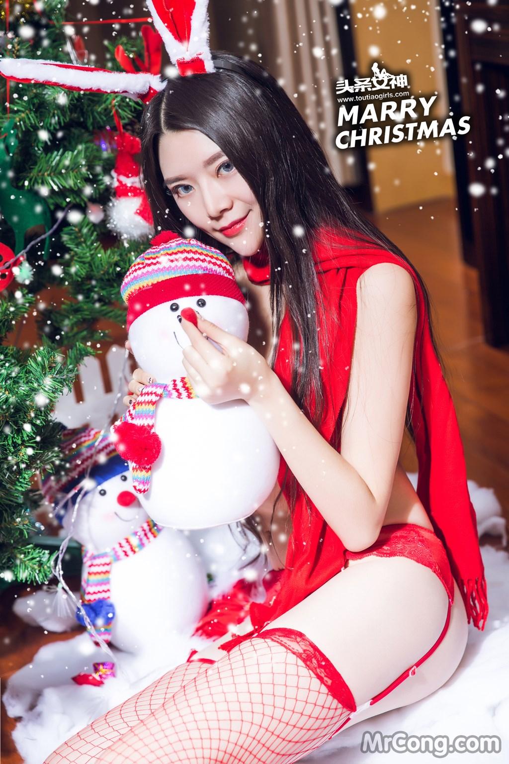 Image MrCong.com-TouTiao-2016-12-19-Lin-Lei-013 in post TouTiao 2016-12-19: Người mẫu Lin Lei (林蕾) (26 ảnh)