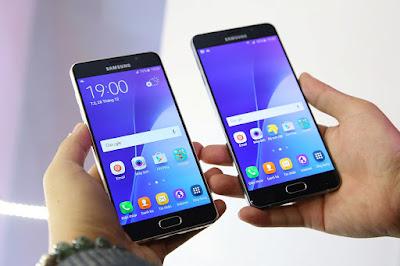 Samsung Galaxy A7 2016 cũ và A5 2016