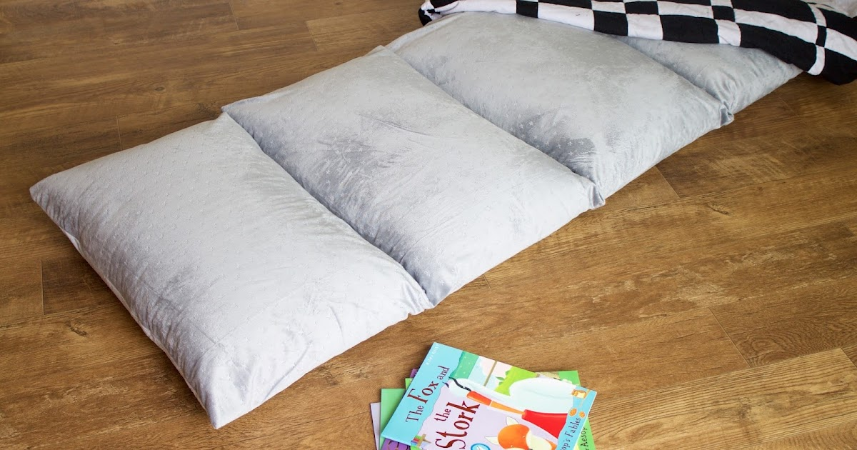 Diy Comfy Pillow Bed Hello Beautiful