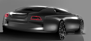 Very elegant Rolls-Royce concept by Patrick Rabelo