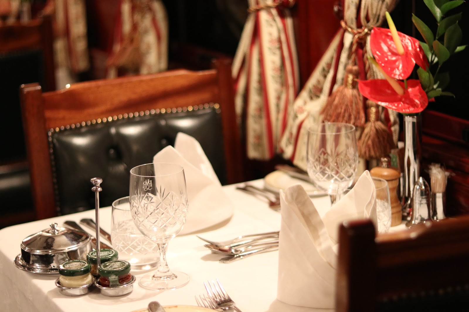 Dining Carriage aboard Rovos Rail, South Africa