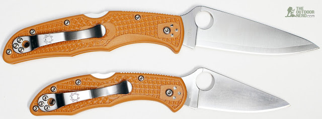 Spyderco HAP40 Endura - With Delica 1