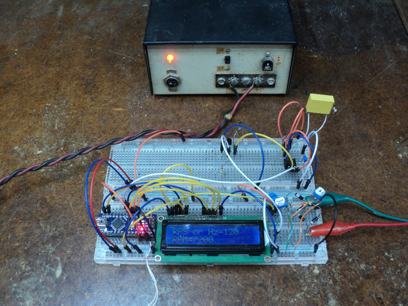 Rouge River Workshop: An Arduino Small Engine Tachometer