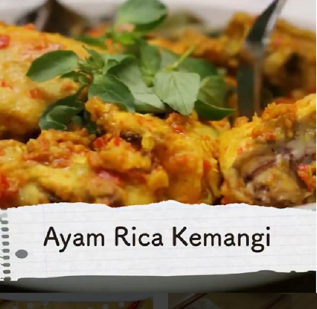 Cara Memasak Ayam Rica-Rica Kemangi Bumbu Sederhana