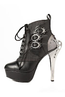 Steampunk Oxford Ankle Boots