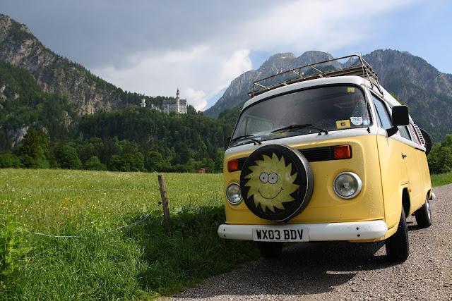 Yellow Campervan
