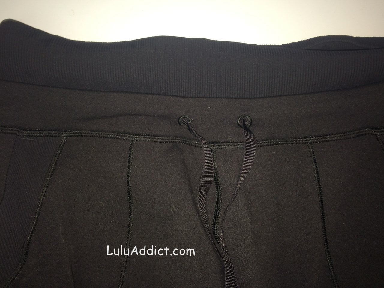 lululemon base runner pant waist