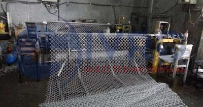 Pabrik Kawat Harmonika Galvanis & PVC