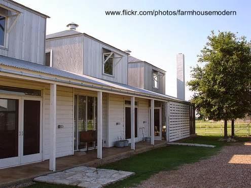 Fondos de la casa de granjero