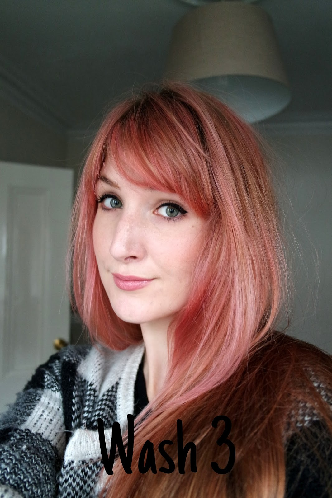 Bleach London I Saw Red Dye And Wash Out Lauren Loves Blog