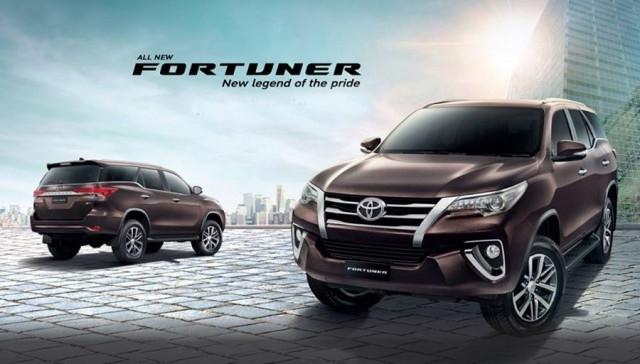 List Harga Toyota Fotuner Terbaru Cibubur Cileungsi Bogor