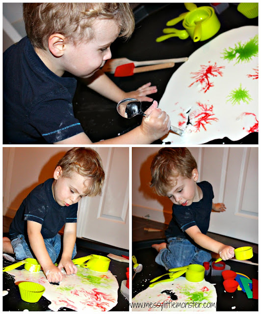 gloop recipe for sensory play