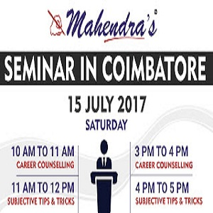 Free Career Counselling & Seminar In Coimbatore