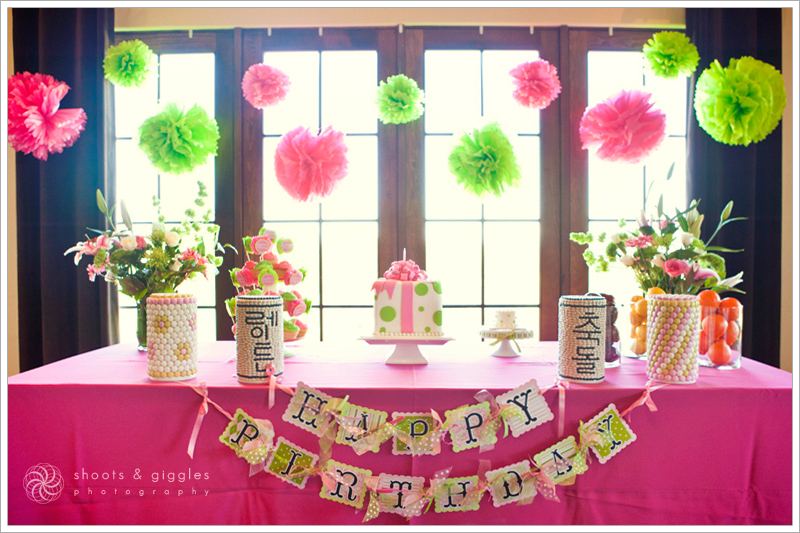 Party Lime Green Hot Pink Polka Dots Life Baby Showers Parties Nurseries Products Deals