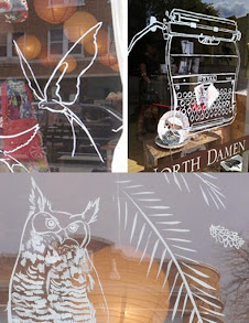 if you're in chicago > check out my custom painted windows at ravensgoods on damen ave