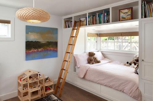 Decoración de dormitorio para niñas