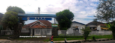 Foto Tugu Koperasi Indonesia di Tasikmalaya.