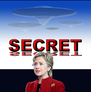 Alien Conspiracy Theorists Hope Clinton Will Open X-Files