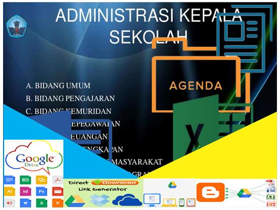 Contoh Format Administrasi Kepala Sekolah Terbaru