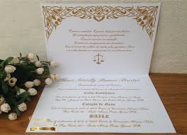 convite com pergaminho