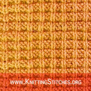 RIB KNITTING PATTERN - Ridge Rib stitch pattern. Broken Rib Pattern. Basket Rib Stitch