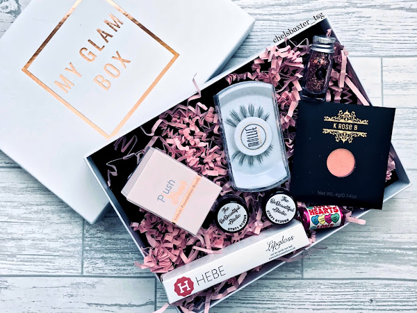 Unboxing My Glam Box; April