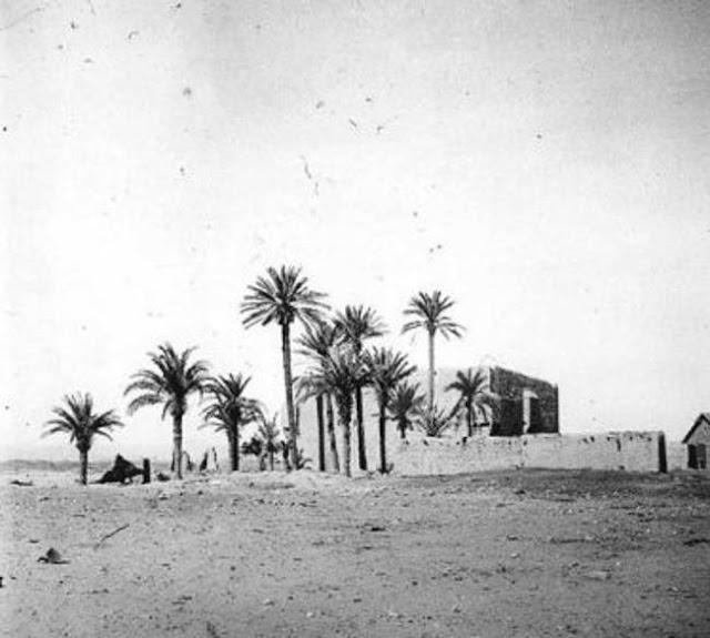 القصر العربي في مدائن صالح 1907م