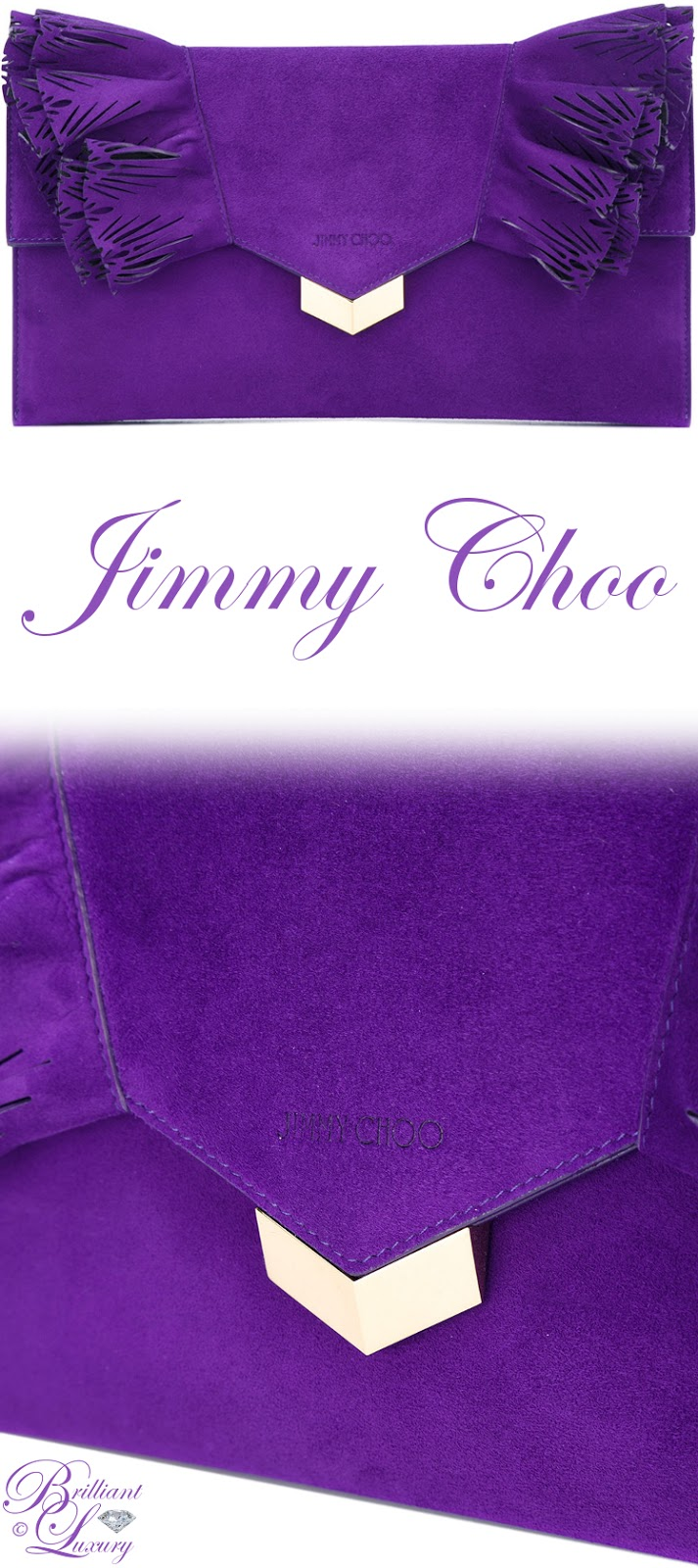 Brilliant Luxury ♦ Jimmy Choo Isabella Clutch