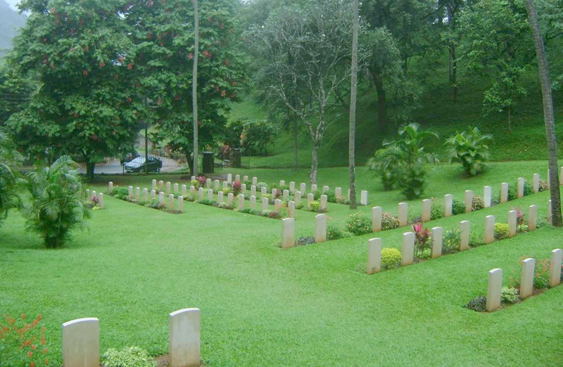 garrison cemetery-things to do in Kandy Sri Lanka