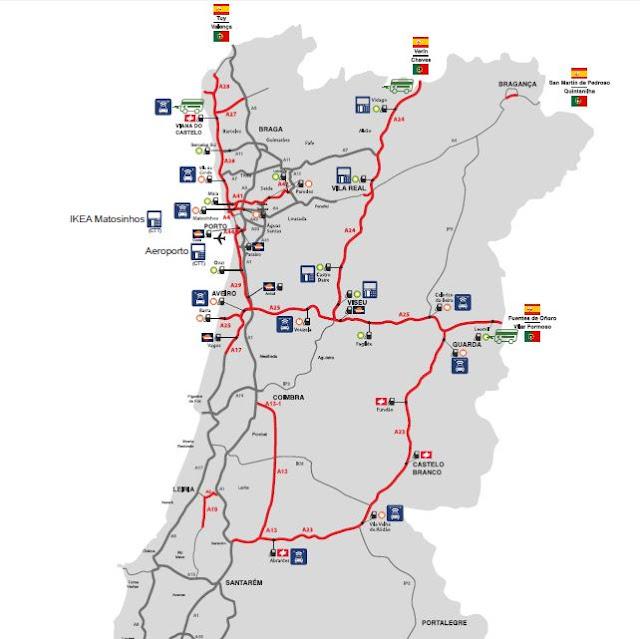carreteras de peaje en portugal