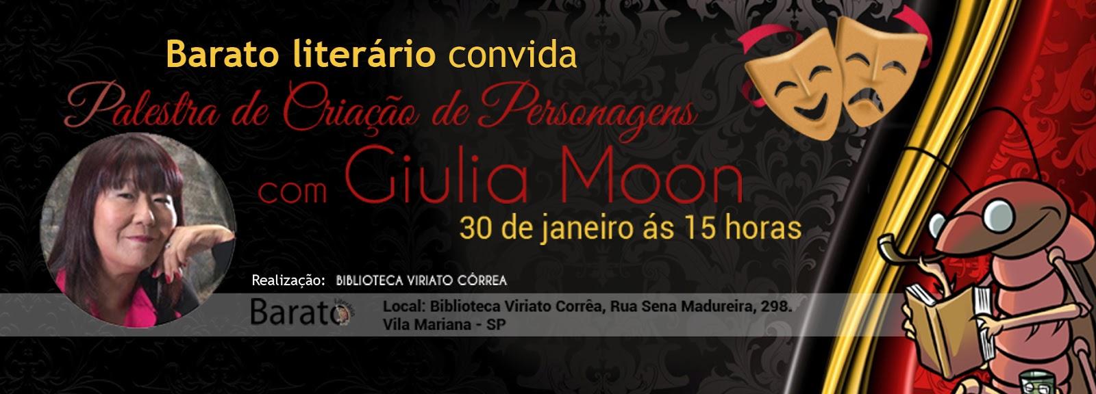 Evento: Palestra de Criação de Personagens com GiuliaMoon O Gabriel Lucas - #OGL