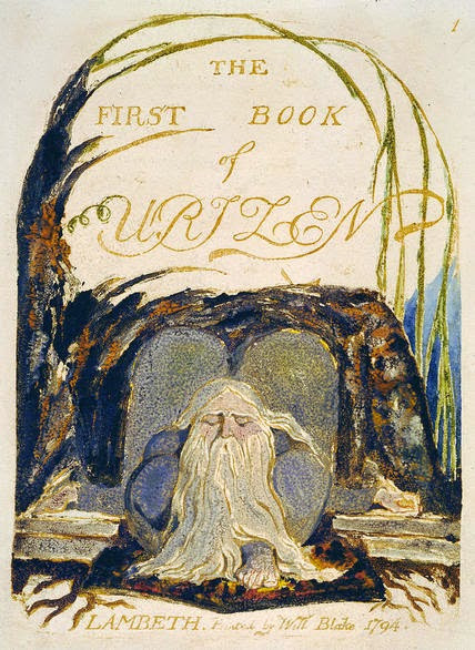 William Blake's Book of Urizen and mushroom symbols
