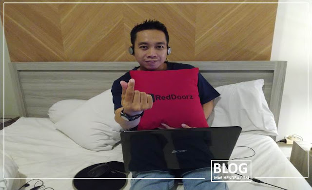 It's Me At RedDoorz - Blog Mas Hendra