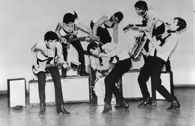 The Gorillas, a primeira banda de rock do Carmo do Paranaíba