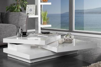 dizajnovy nabytok Reaction, nabytok vo vysokom lesku, biely nabytok