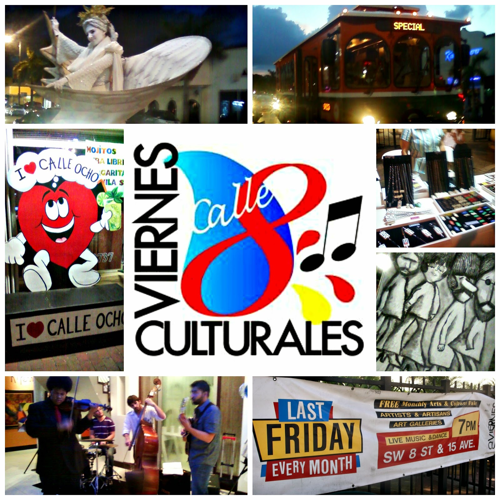 Viernes Culturales,Calle Ocho,Little Havana,miami,Florida,Block Party,Cubans in US,Domino Park,Pequeña Habana