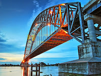 Pesona Jembatan Rumpiang Marabahan Kalimantan Selatan