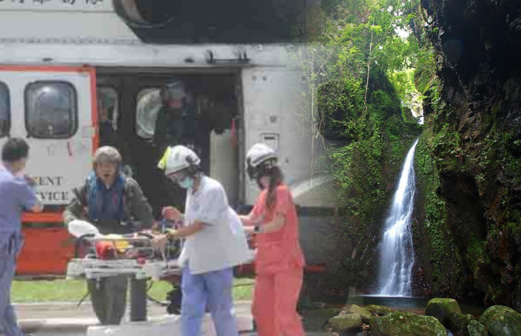 Terpeleset dan Jatuh di Saat Hiking, Seorang Wanita dilarikan kerumah Sakit Tuen Mun