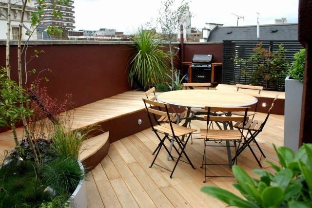 Bien connu Idees Pour Amenager Une Terrasse. Mes Ides Dco Pour Amnager Une  UJ81