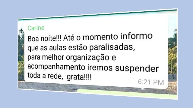 NOTIFICAÇÃO SECRETARIA DE EDUCAÇÃO PANELAS-PE