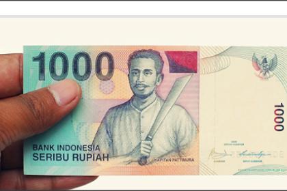Emot Smiley berasal dari Uang Seribu Rupiah?