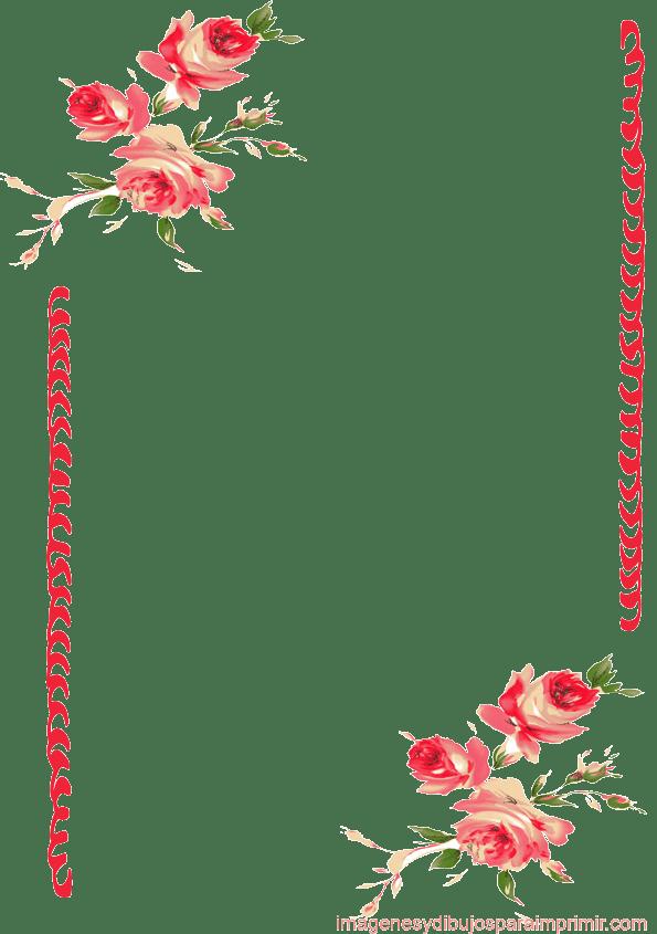 Animated Barbie Wallpaper Marcos Y Bordes Bordes De Rosas Para Imprimir
