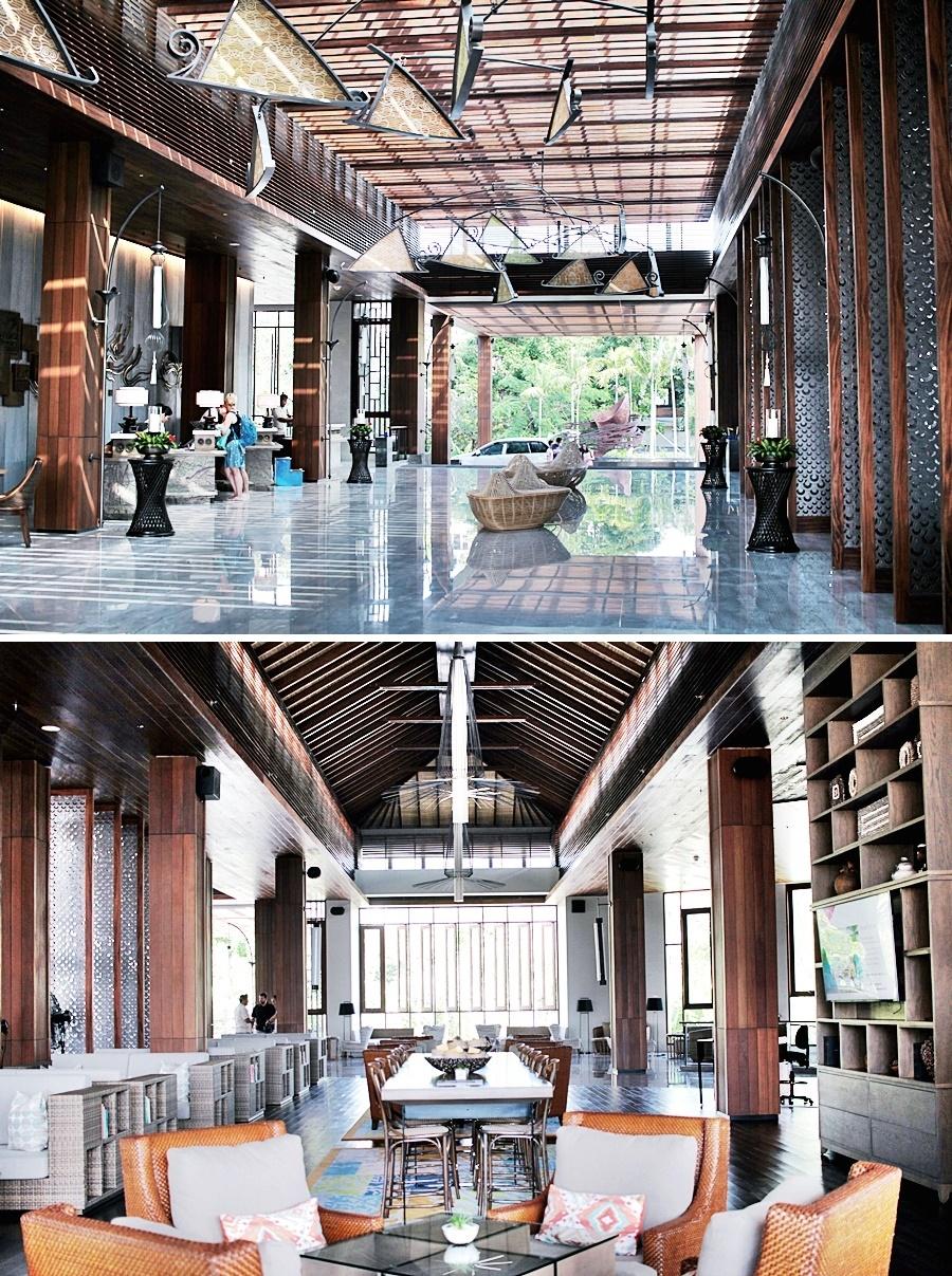 hotel lobby bali mövenpick resort