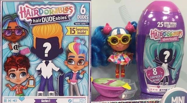 Новые куклы Hairdorables серия 3, сестрички Shortcuts, мальчики HairDUDEables и питомцы