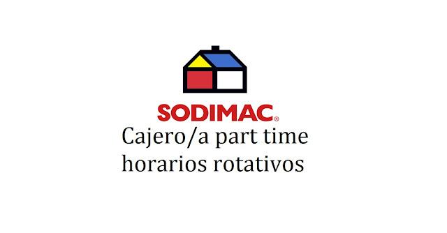 Cajero/a part time horarios rotativos