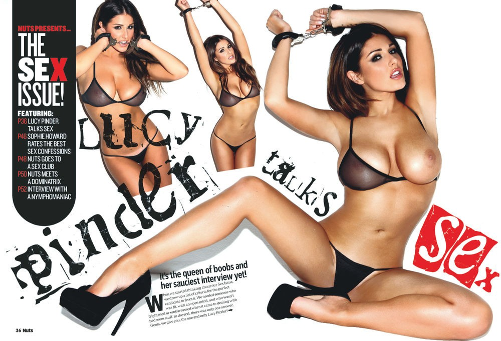 Lucy pinder pussy shot at last #7