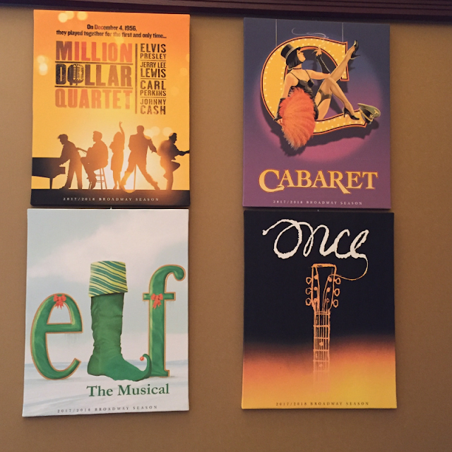 Just a few of the productions that have been performed at the Paramount Theatre in Aurora, Illinois.