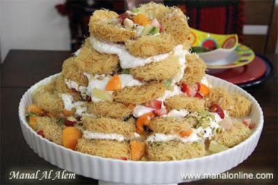 برج الكنافة - مطبخ منال العالم