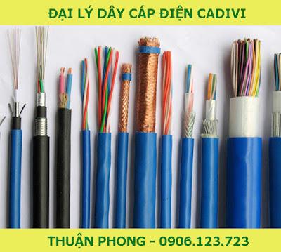 Đại lý dây cáp điện Cadivi tại Bến Tre 100% giá gốc cấp 1