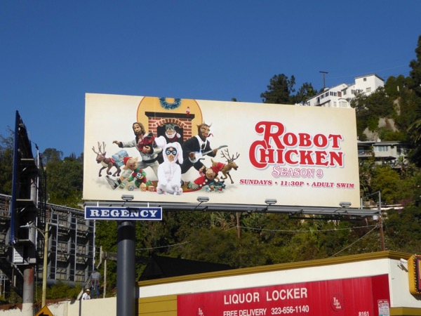 Robot Chicken season 9 billboard